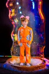 Шоу мыльных пузырей «Пузыри-Шоу» на детском празднике