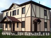 Замер,  дизайн,  проект вентилируемого фасада для коттеджа бесплатно
