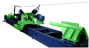 Станок «ЗВЕРЬ-300» оцилиндровочный роторного типа для обработки бревен