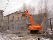 Демонтаж перегородок,  снос зданий в Новосибирске.