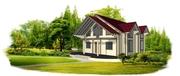 Дом «СПАРТАК» 10м*12м