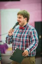 Ведущий на мероприятие и новогодний корпоратив в Новосибирске.