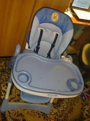 Продам детский стульчик для кормления Capella.