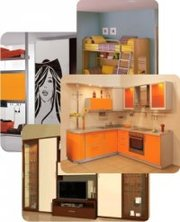 Изготовление корпусной мебели для дома,  офиса,  торговое оборудование-