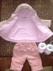 Продам детский костюмчик и теплые пинеточки